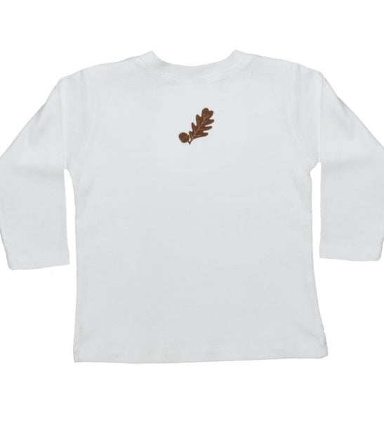 Back of the Hedgehog Long Sleeved T-Shirt by Tommy & Lottie at Nurture Collective