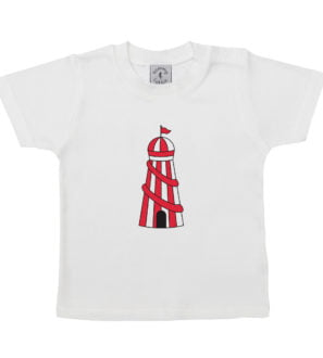 Babies Helter Skelter t shirt short sleeve Tommy & Lottie at Nurture Collective Ethical Baby Clothing