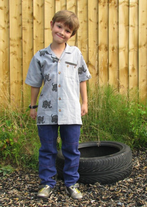 Elephant Kids Shirt by Where Does it Come From at Nurture Collective