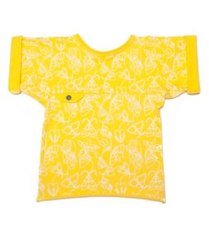 Alexis Yellow T- Shirt by Jake & Maya at Nurture Collective Ethical Clothing