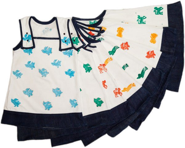 Freya Pinafore Dress by Where does it come from at Nurture Collective