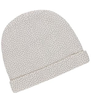 Mini Polka Dot Beanie Hat by Huggee Purewear