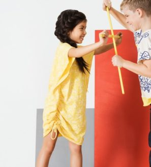 Cameron Jersey Tunic in Yellow by Jake & Maya at Nurture Collective