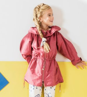 Red Jamie Jacket by Jake & Maya at Nurture Collective Ethical Clothing