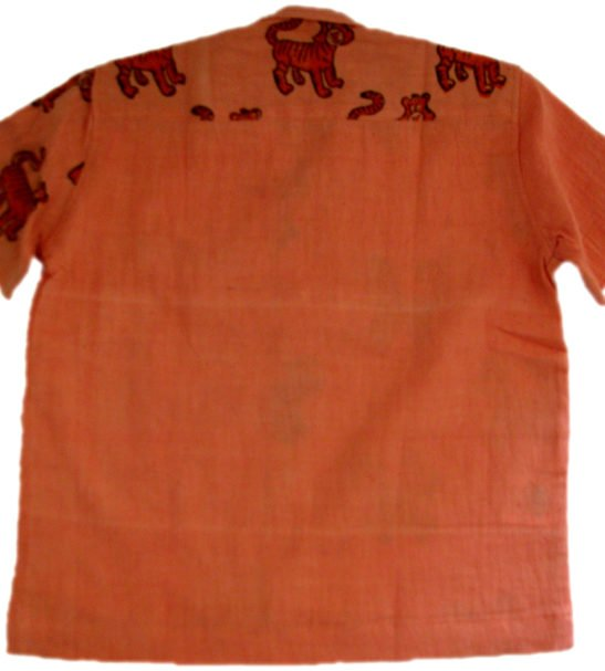 Tiger Cotton Shirt by Where Does it Come From at Nurture Collective Ethical Clothing