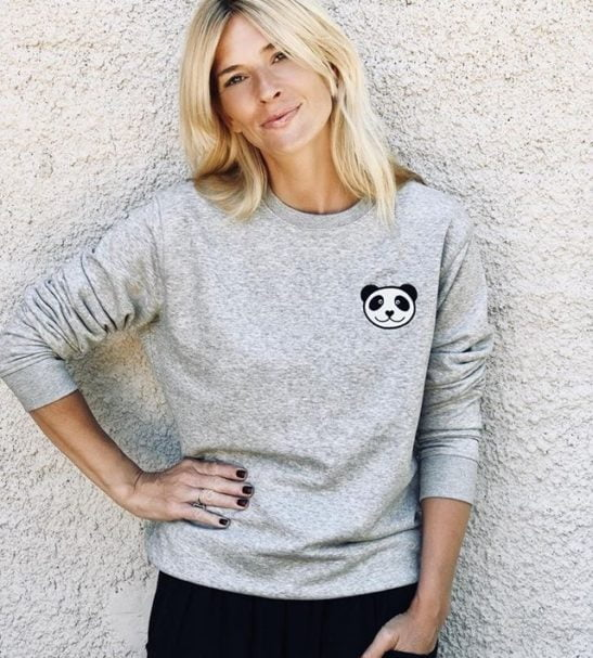 Adults Panda Sweatshirt by Tommy & Lottie at Nurture Collective