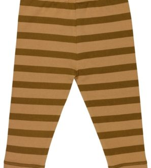 Brown Striped Trousers Organic by Huggee Purewear at Nurture Collective Ethical Baby Clothing
