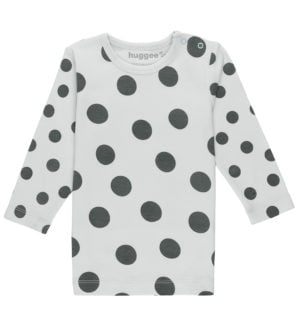 Maxi Polka Dot Pyjama Top By Huggee Purewear