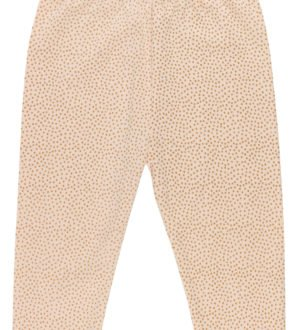 mini polka dots pyjama bottoms by Huggee Pure Wear at Nurture Collective