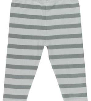 Silver Blue Stripe Joggers Soft Fleece by Huggee Purewear