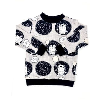 Organic Hedgehogs Jumper by Squidge & Sumdge