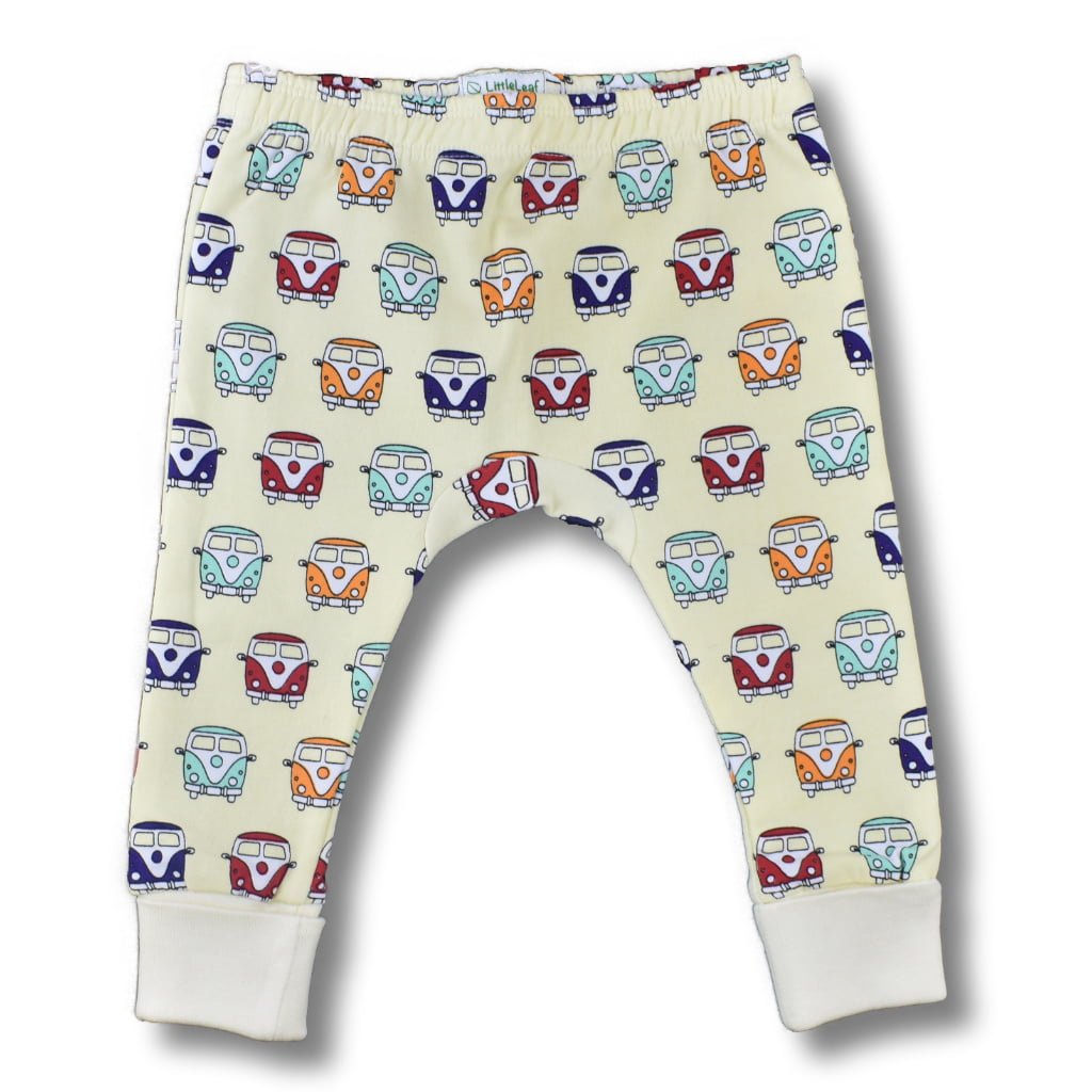 Camper Van Leggings for baby-toddlers by Little Leaf at Nurture Collective Ethical Baby