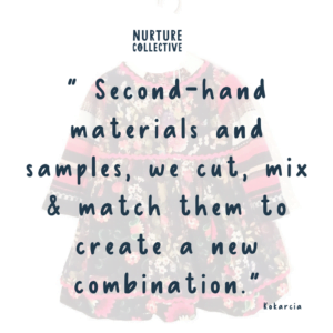 Kokarica's Maker of the month blog post quote for Nurture Collective Ethical Baby