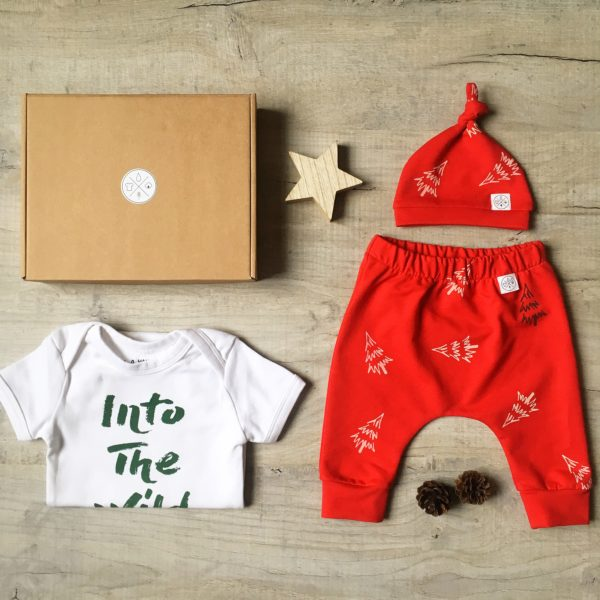 Christmas Baby Gift Set Into the Wild by Little Drop at Nurture Collective