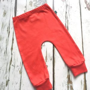 Baby and Toddler Harem Joggers by Maebelle & Bo at Nurture Collective Ethical Baby Clothing