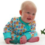 Beach Huts Baby Grow Nurture Collectives Maker of the Month Little Leaf Organics