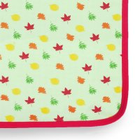 Natural Leaves Baby Blanket by Little Leaf Organics at Nurture Collective Ethical Baby Clothing