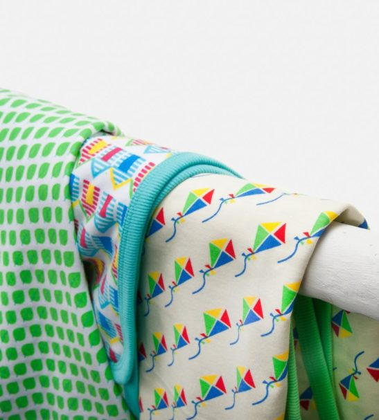 A Mix of Baby Blankets by Little Leaf Organics at Nurture Collective Ethical Baby Clothing