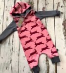 Pull-On Rabbits Romper by Maebelle & Bo at Nurture Collective Ethical Baby Clothing