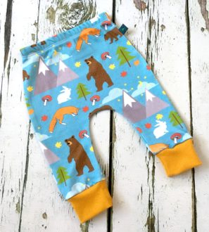 NEW Winter Bears Baby Leggings by Maebelle & Bo Ethical Baby Clothing