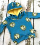 Lions Organic Hoodie by Maebelle & Bo at Nurture Collective Ethical Baby Clothing