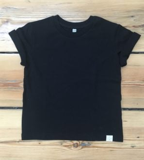 Basic Organic Tee by Little Drop in the Ocean at Nurture Collective Ethical Baby Clothing
