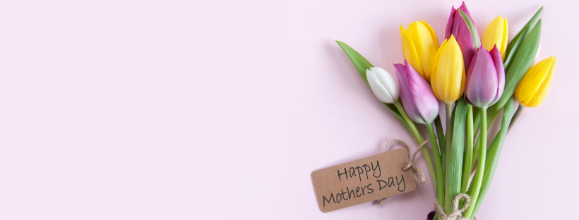 Mothers Day Homepage Banner for the Mamas Shop Nurture Collective