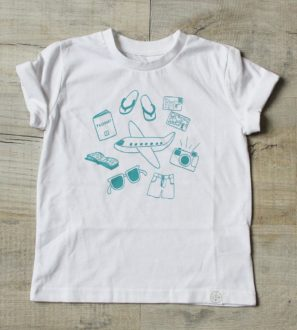 Fly away tee by Little drop at Nurture Collective