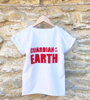 Guardians of the Earth Tee by Jake & Maya at Nurture Collective Ethical Baby