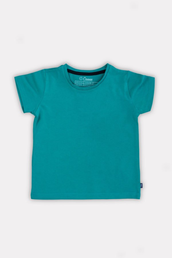 Just Green Unisex T-shirt by Cooee Kids at Nurture Collective Ethical Baby Clothing