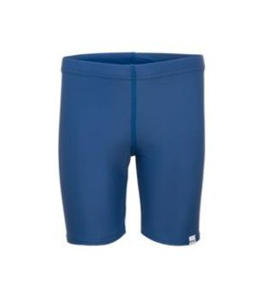 Blue Swim Shorts by Noma Swimwear at Nurture Collective Ethical Baby Clothing