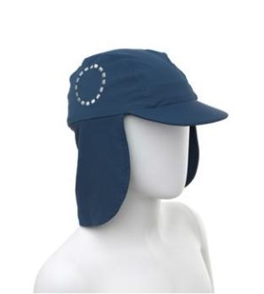 Blue & White Legionnaires Unisex Sun Hat by Noma Swimwear at Nurture Collective Ethical Baby Clothing