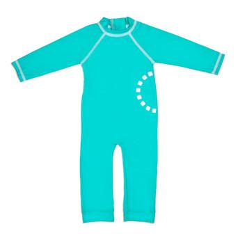 Turquoise All in One Unisex Swimwear by Noma Swimwear at Nurture Collective Ethical Baby Clothing