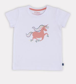 Unique Unicorn Unisex T-shirt by Cooee Kids at Nurture Collective Ethical Baby Clothing
