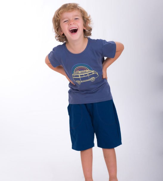 Valentin Van T-Shirt by Cooee Kids at Nurture Collective Ethical Baby Clothing