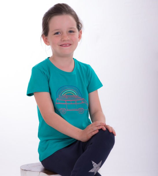 Viva Van Unisex T-shirt by Cooee Kids at Nurture Collective Ethical Baby Clothing