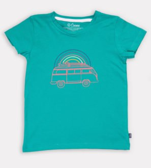 Viva Van Unisex T-shirt by Cooee at Nurture Collective Ethical Baby Clothing