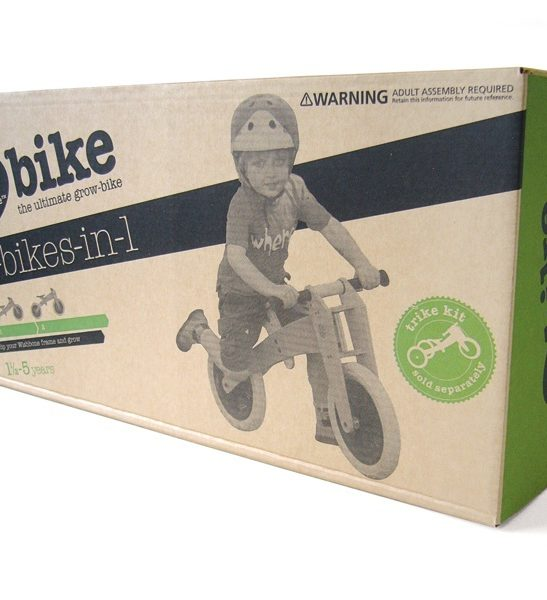 Wishbone Bike Eco Friendly Packing available at Nurture Collective Ethical Baby