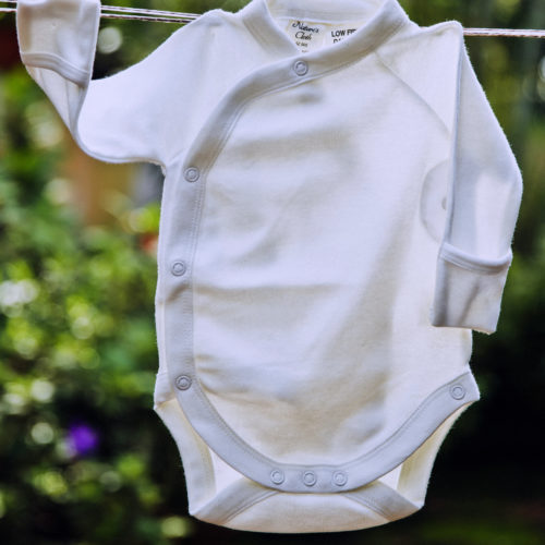 Baby Bodysuit by Natures Cloth at Nurture Collective Ethical Baby Clothing
