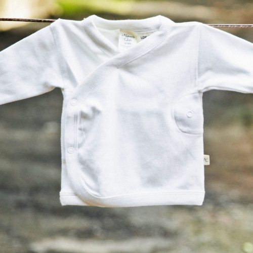 Baby Pyjama Top by Natures Cloth at Nurture Collective Ethical Baby Clothing