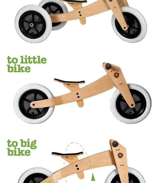 Wishbone Original 3 in 1 Trike to Bike at Nurture Collective Ethical Baby