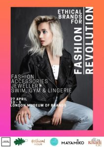Ethical Brands For Fashion Revolution at Museum of Brands