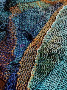 Fishing Nets used to catch fish in the Ocean interview NomaSwims at Nurture Collective Ethical Baby