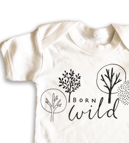 Born into the Wild Tee by Little Drop at Nurture Collective