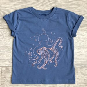 Dos Pinherios Tee by Little Drop in the Ocean at Nurture Collective Ethical Baby Clothing