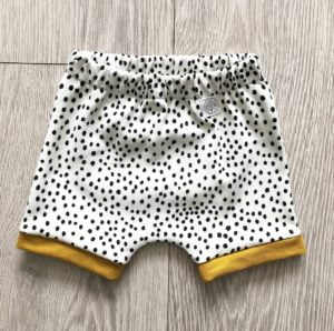 Dotty Shorts by Little Drop at Nurture Collective Ethical Baby Clothing