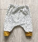 Dotty Trouser Pants by Little Drop at Nurture Collective Ethical Baby Clothing