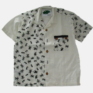 Ant Cotton Shirt by Where Does it Come From at Nurture Collective Ethical Clothing