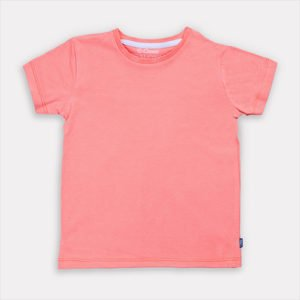 Just Pink Unisex T-shirt by Cooee Kids at Nurture Collective Ethical Baby Clothing
