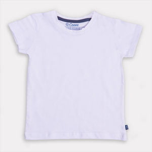 Just White T-Shirt by Cooee Kids at Nurture Collective Ethical Baby Clothing